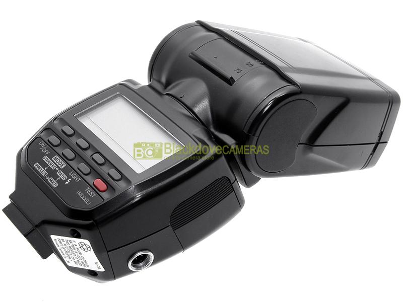 Minolta flash 5400hs wireless controller N° guida 54 per fotocamere analogiche