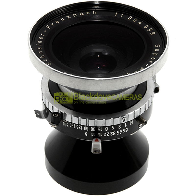 Schneider Super Angulon 90mm. f1:8