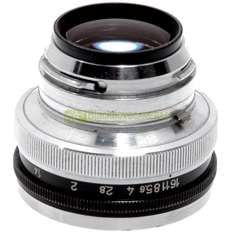 Obiettivo Nikon Nikkor 2 Auto 50 mm f2 per fotocamere a telemetro S