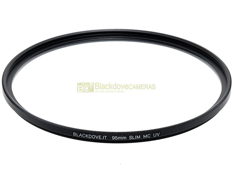 95mm. filtro UV MC Slim Blackdove-cameras. Ultra violet filter, Multi Coated.