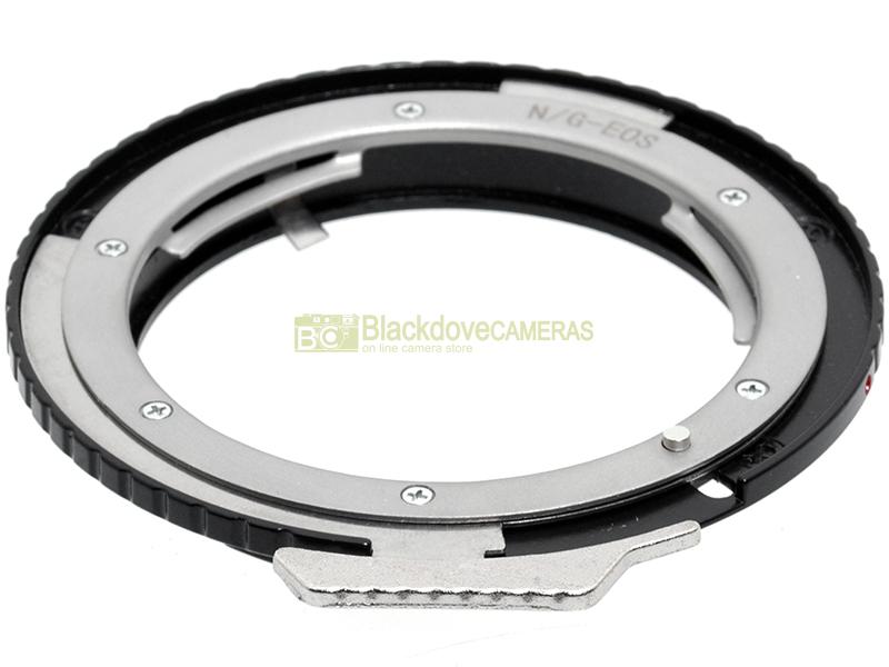 AEF. Anello adapter per ottiche Rollei su corpi Canon EOS Adattatore