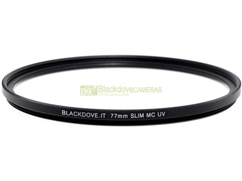 77mm. filtro UV MC Slim Blackdove-cameras. Ultra violet filter, Multi Coated.