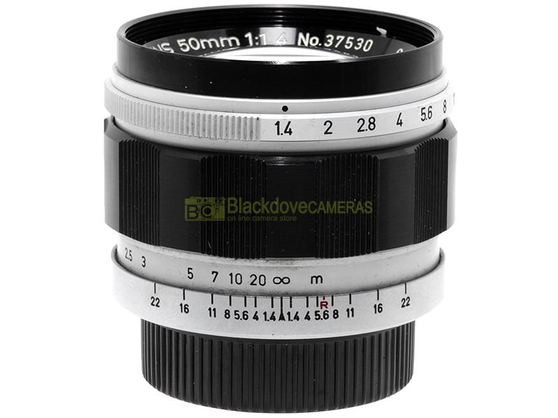 Canon 50mm f1,4 innesto M39 anche per fotocamere M6 M7 M8 M9 M10 Monochrome
