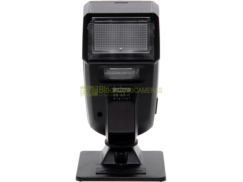 Flash Metz 58 AF-1 Digital eTTL II per fotocamere digitali Canon EOS. 58AF I