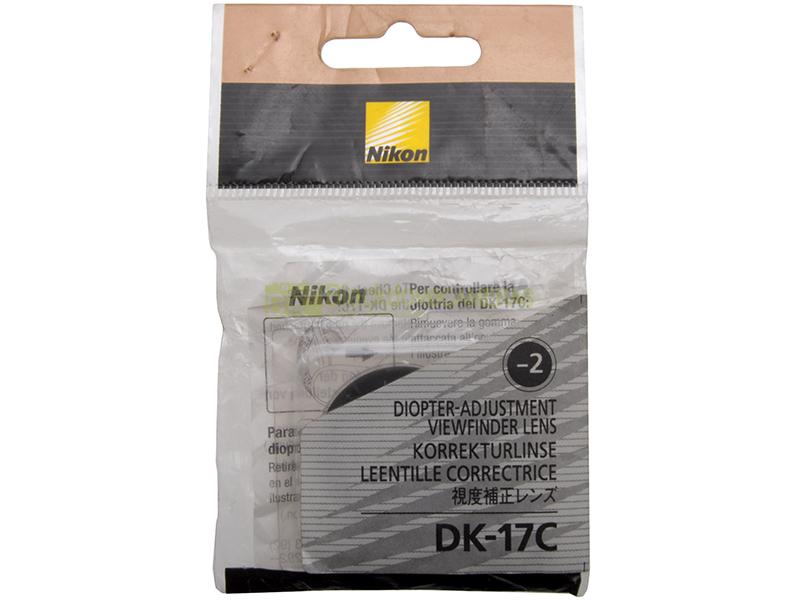 2 diottrie Paraocchio ORIGINALE. Nikon DK-17c oculare con correzione diottrica