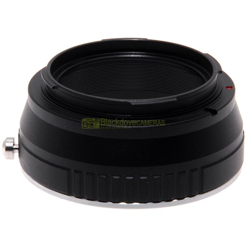 Adapter per obiettivi Canon EOS EF su fotocamere digitali Leica T TL SL CL e Panasonic L.