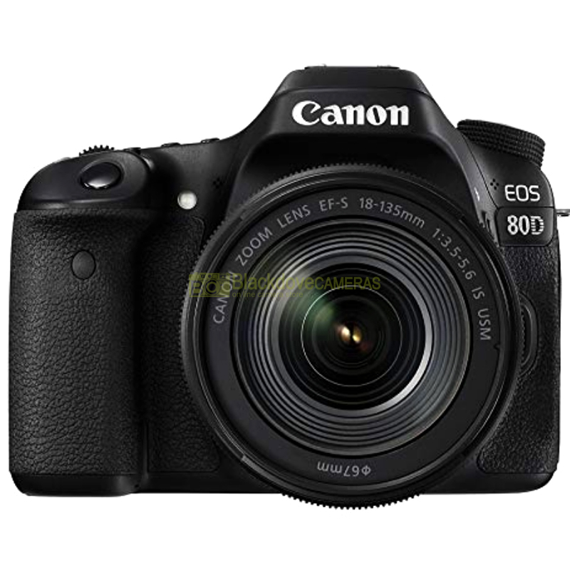 Canon EOS 80D + EF-S 18-135mm f3.5-5.6 IS STM Bulk