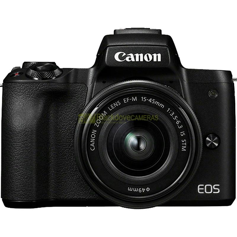 Canon EOS M50 + 15-45 Black