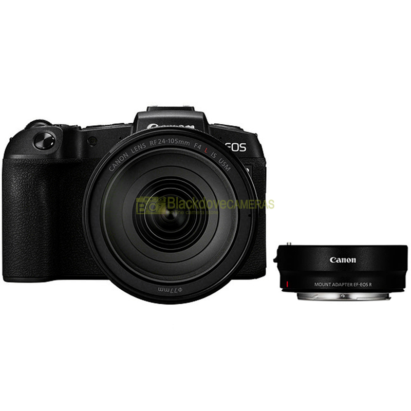 Canon EOS R + RF 24-105 f/4L IS USM + ADAPTER