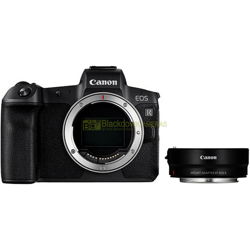 Canon EOS R BODY + Adapter