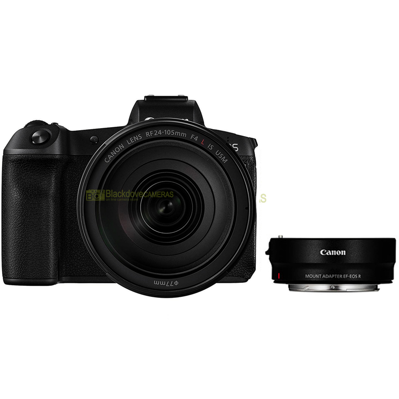 Canon EOS RP + RF 24-105 f/4L IS USM + ADAPTER