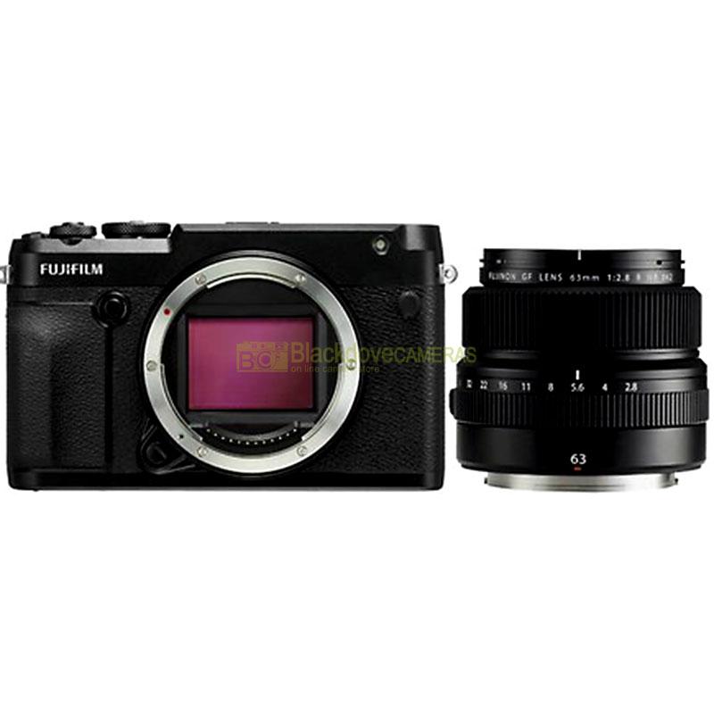 Fujifilm GFX 50R Body + 63mm Lens Kit