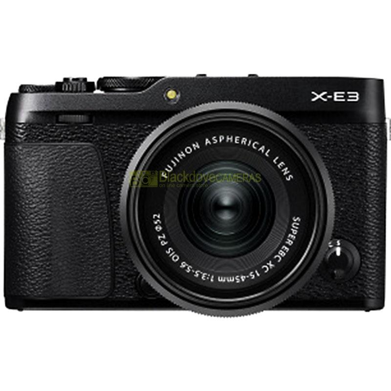 Fujifilm X-E3 + 15-45 Black