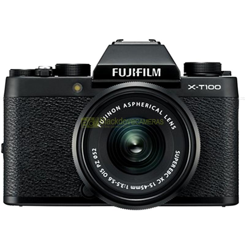 Fujifilm X-T100 Black + XC 15-45mm f/3.5-5.6 OIS PZ