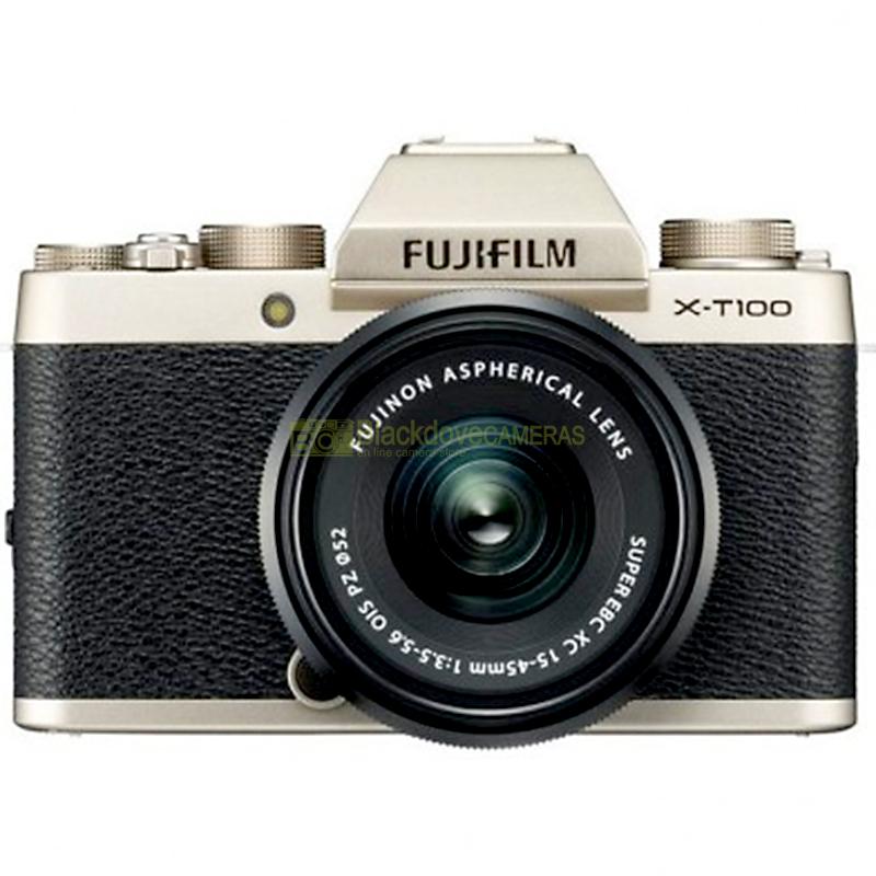 Fujifilm X-T100 Gold + XC 15-45mm f/3.5-5.6 OIS PZ