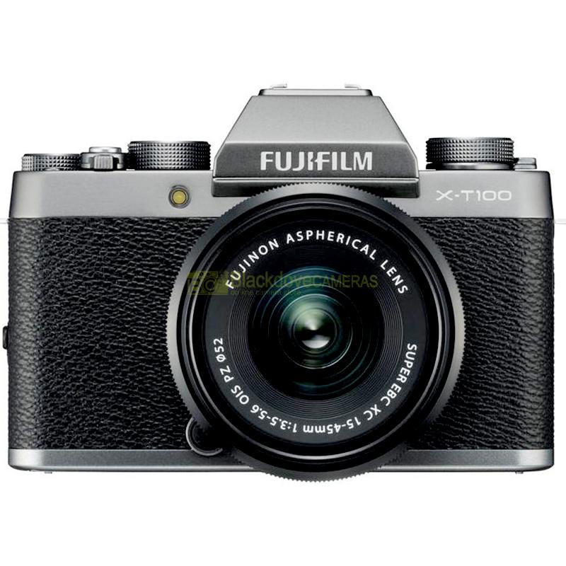 Fujifilm X-T100 Silver + XC 15-45mm f/3.5-5.6 OIS PZ