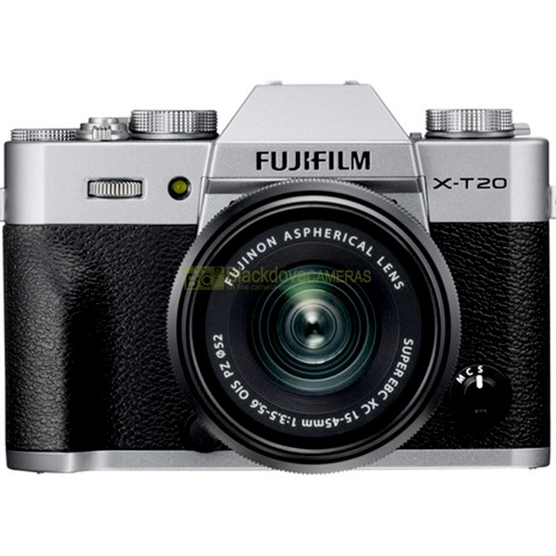 Fujifilm X-T20 + 15-45 Silver