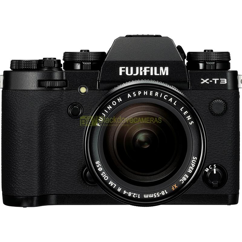 Fujifilm X-T3 + 18-55 Black