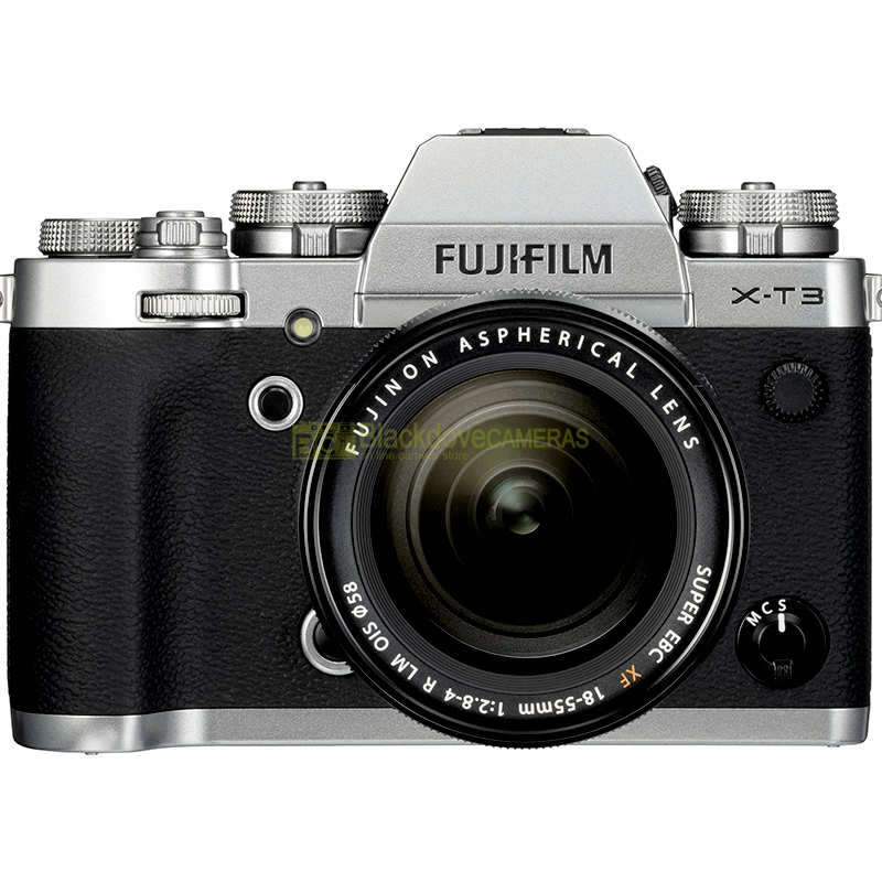 Fujifilm X-T3 + 18-55 Silver