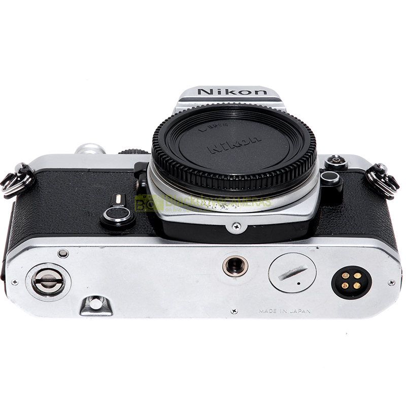 Nikon FM cromo fotocamera reflex
