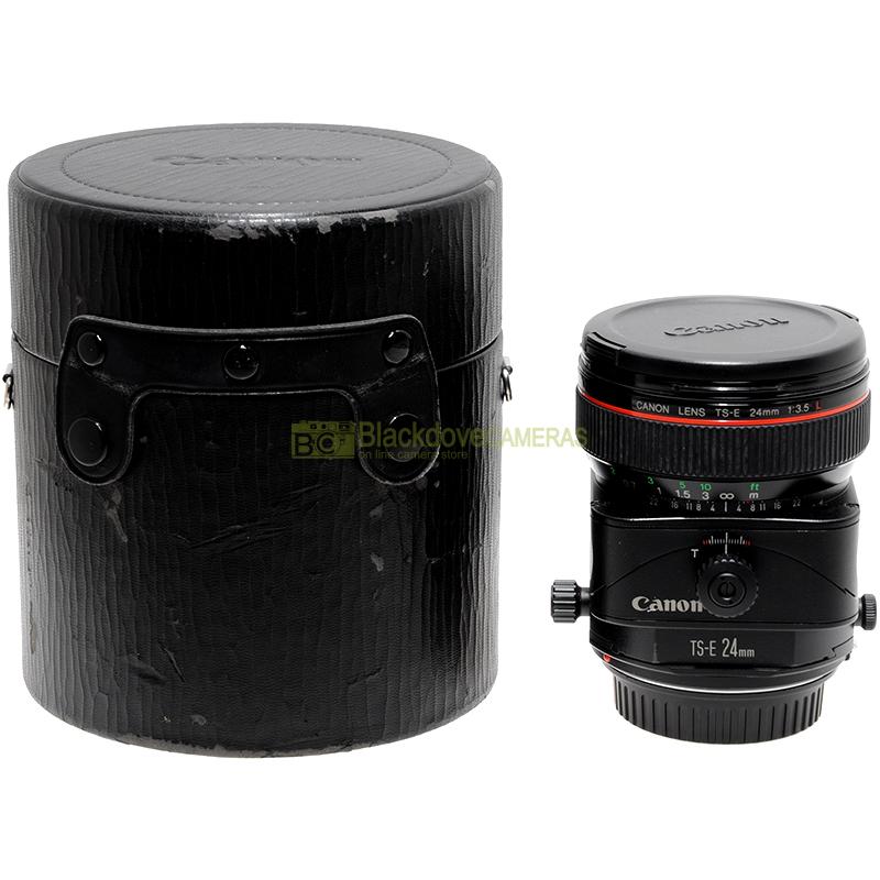 Canon EF 24mm f3,5 L TS Tilt & Shift obiettivo decentrabile per fotocamere EOS