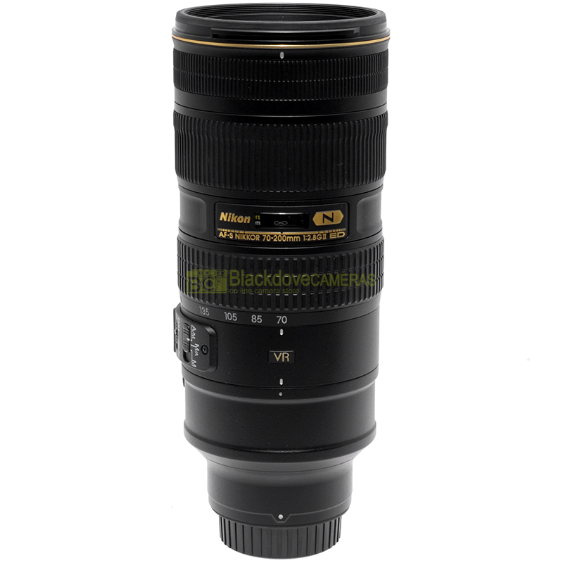 Nikon AF-S Nikkor 70/200 mm f2,8 G ED VR II