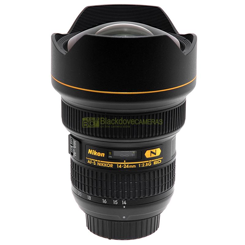 Nikon AF-S Nikkor 14/24mm. f2,8 G ED N