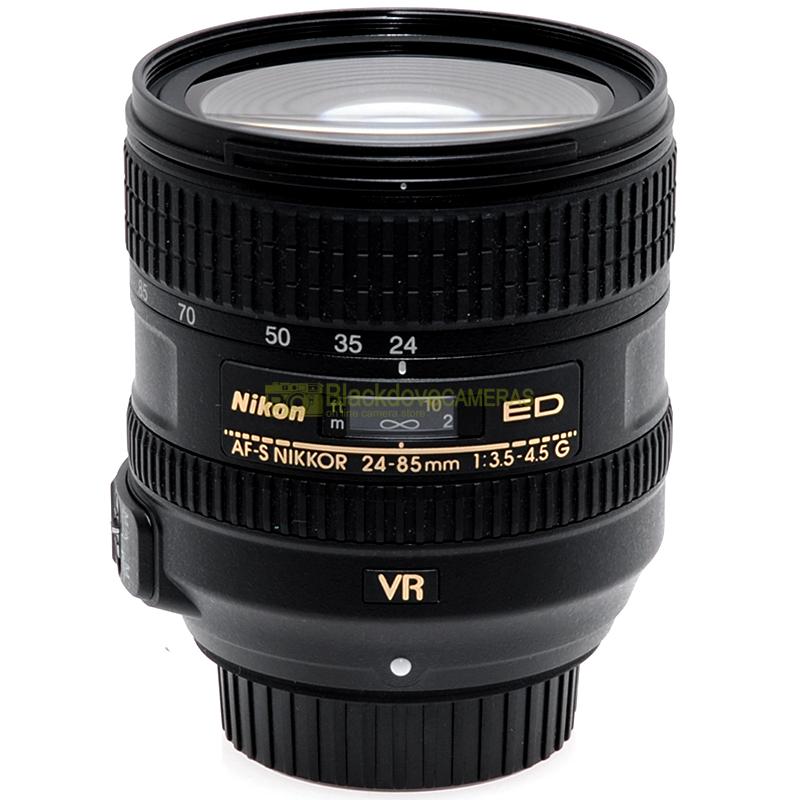 Nikon AF-S Nikkor 24-85 mm f3,5-45 G ED VR