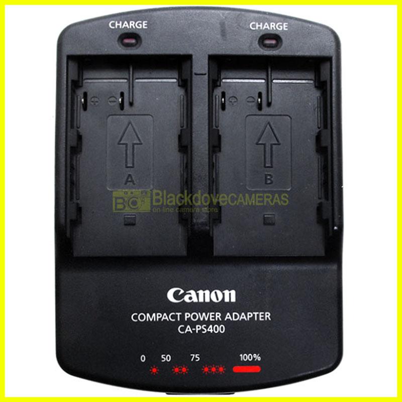 Canon caricabatterie doppio CA-PS400 x BP-511A BP-511 ecc.