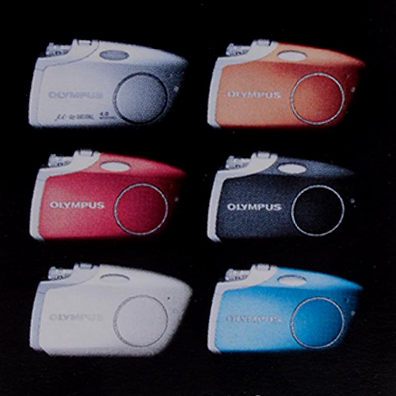 Olympus U-Mini leather case custodia per fotocamere digitali compatte Mju Mini