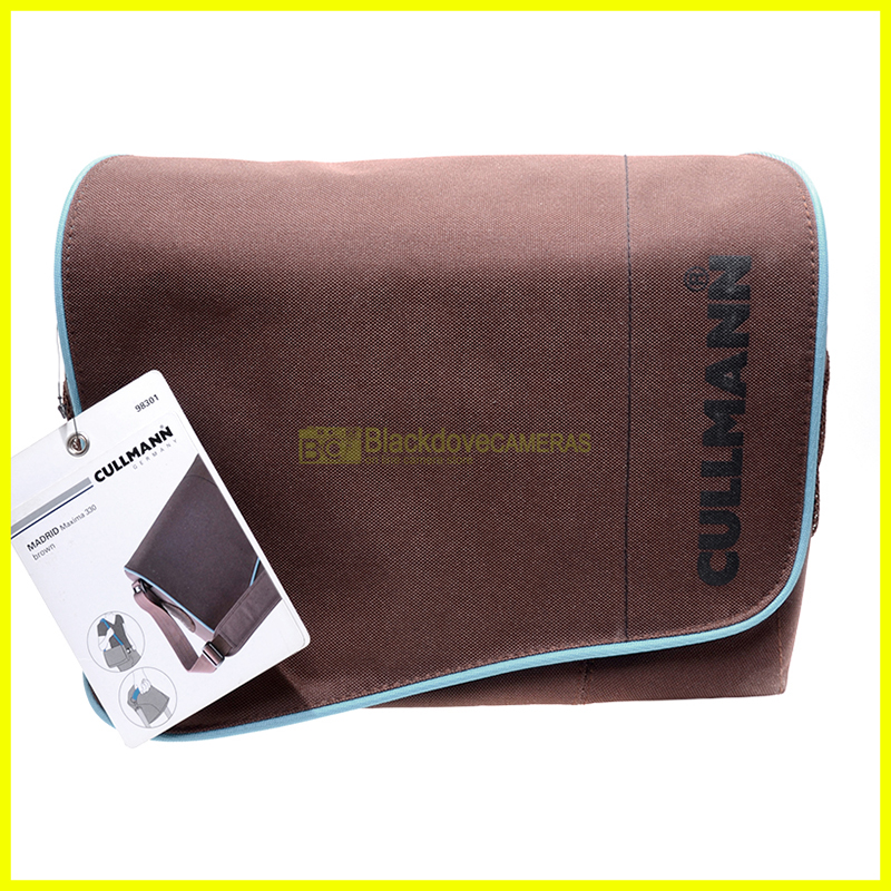 Borsa per fotocamere e accessori Cullmann 98301. Camera Case. Nuova.