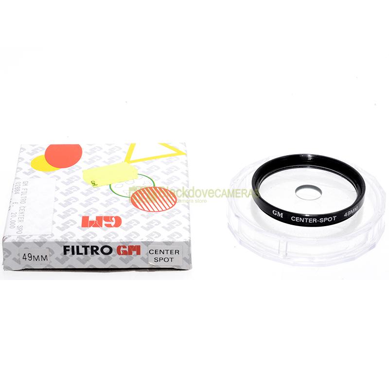49mm. filtro creativo Center Spot per obiettivi M49.