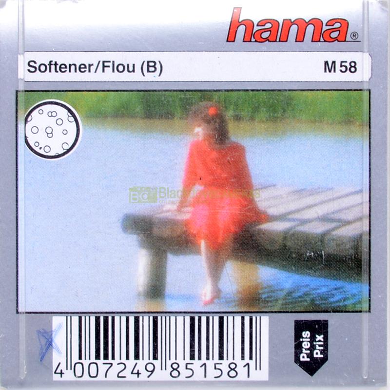 58mm. filtro creativo Softener (Flou) per obiettivi M58.