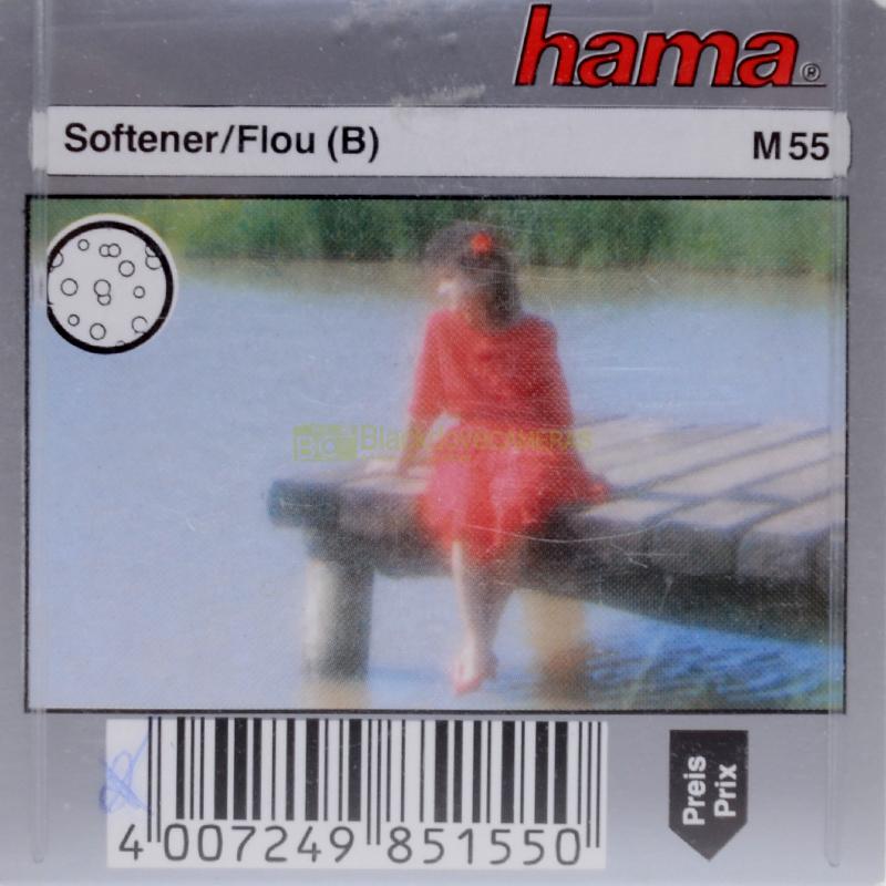55mm. filtro creativo Softener (Flou) per obiettivi M55.