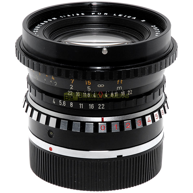 Leica R Schneider Kreuznach PA-Curtagon 35 mm f4 decentrabile