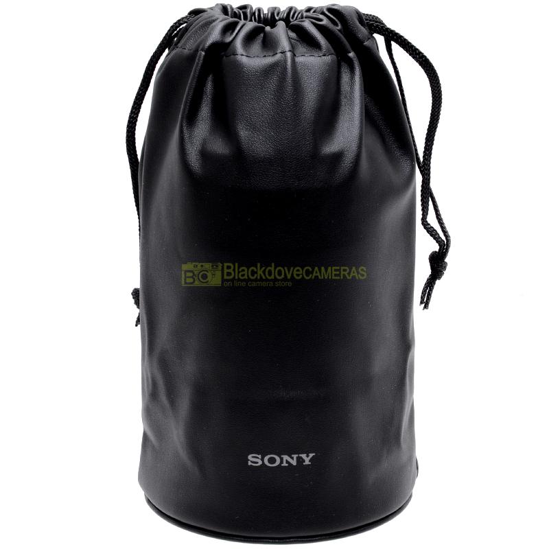 Custodia Sony per obiettivi fino a diametro cm. 10,5 altezza cm. 17. Lens case