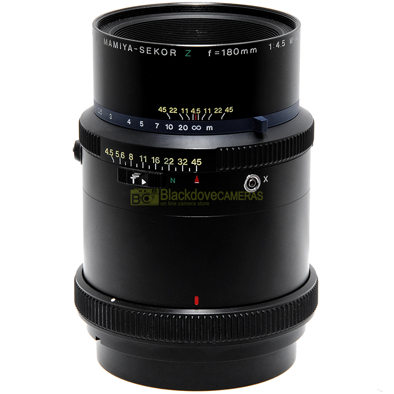 Obiettivo Mamiya Sekor Z 180mm f4,5 W-N