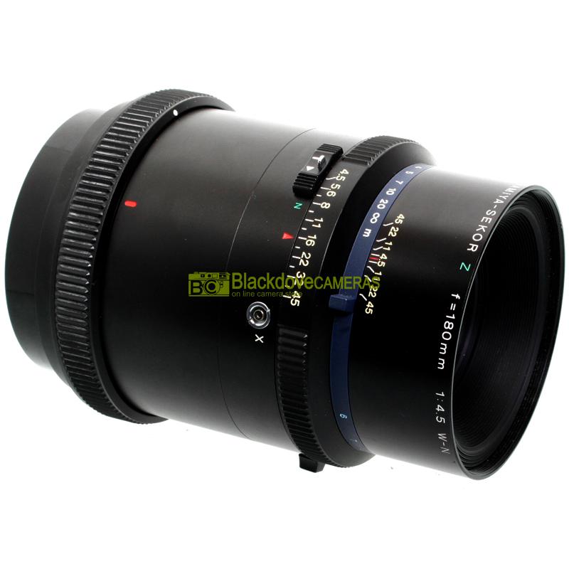 Obiettivo Mamiya Sekor Z 180mm f4,5 W-N width=