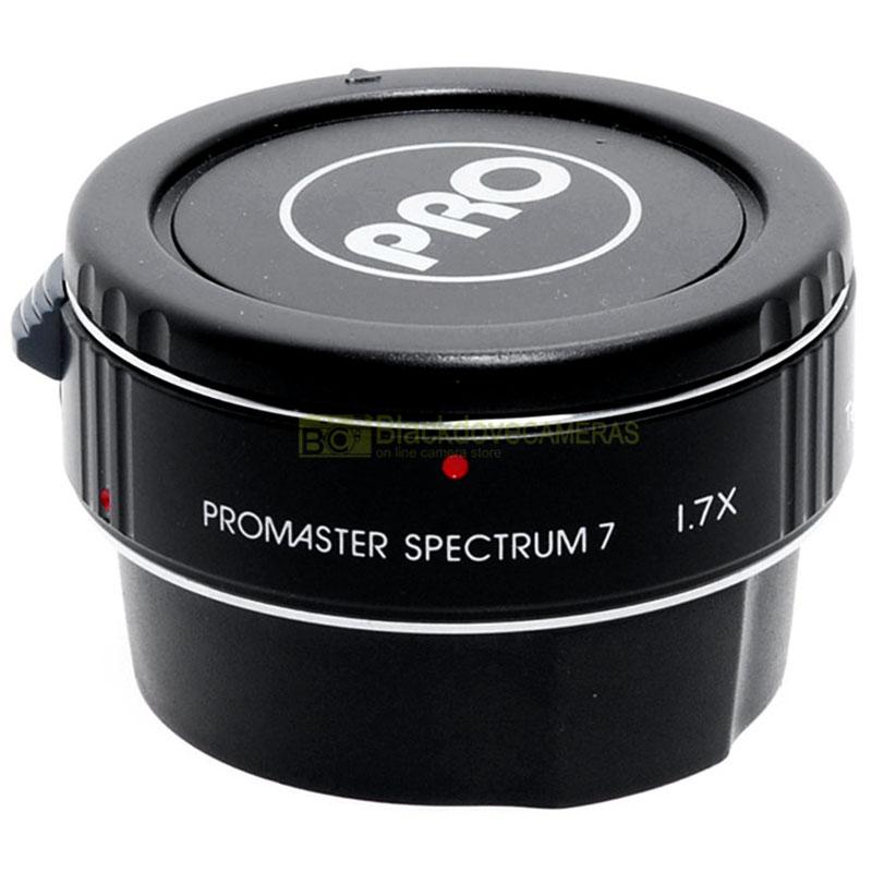 Moltiplicatore di focale 1,7x Promaster Spectrum per obiettivi Canon EOS EF