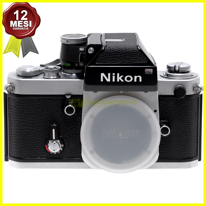 Fotocamera Nikon F2 con Photomic DP1