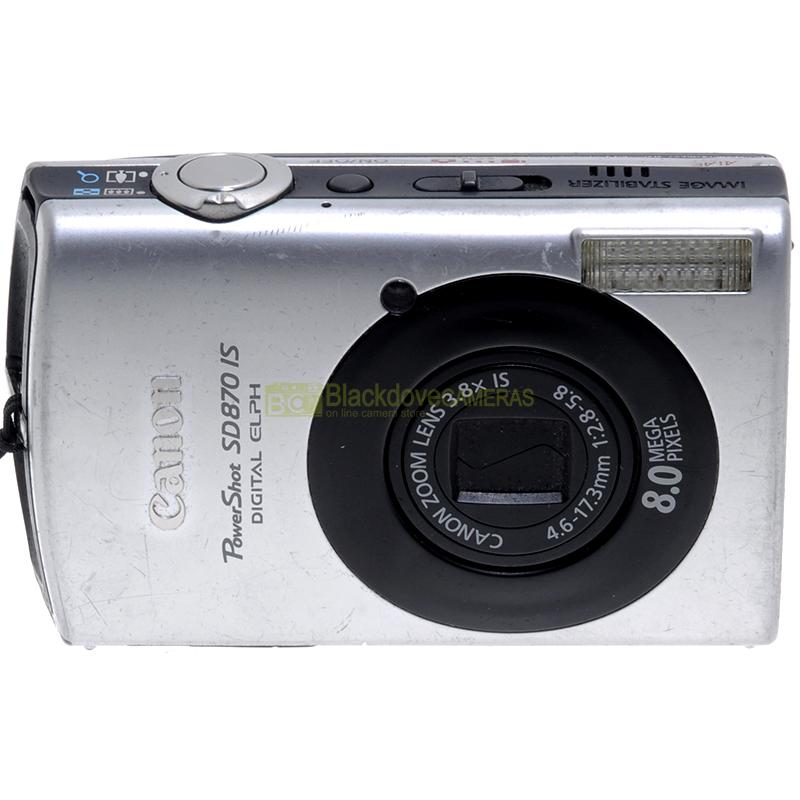 Fotocamera digitale Canon Powershot SD870IS modificata per fotografia infrarosso