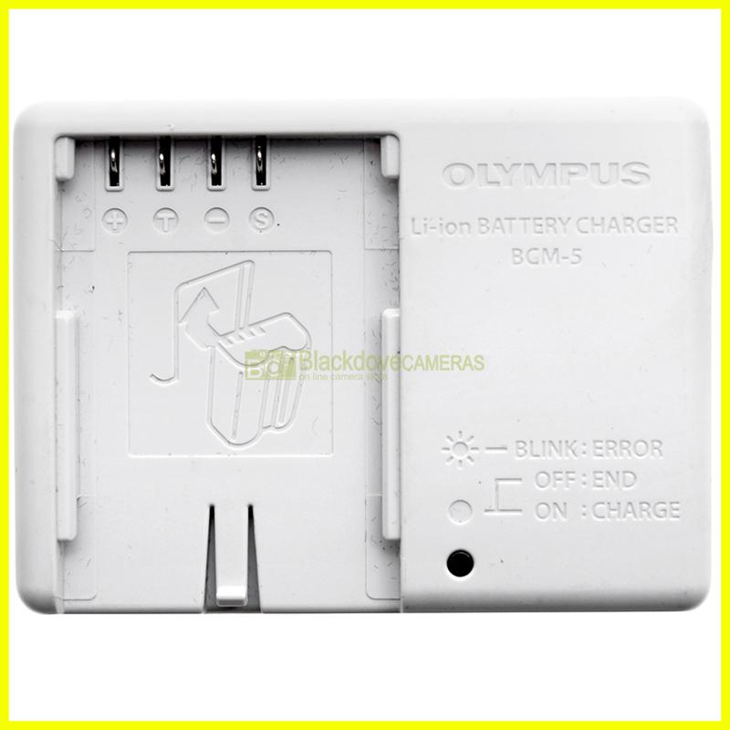 Caricabatterie Olympus BCM-5 per batterie BLM-5 x fotocamere digitali E1 E3 E30