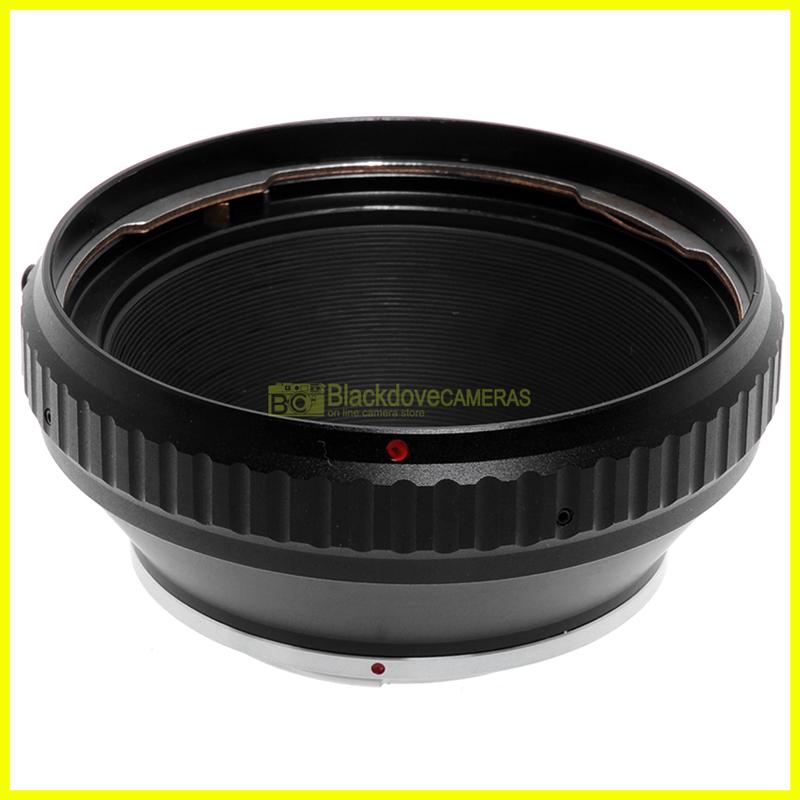Adapter per montare obiettivi Hasselblad V su fotocamere Pentax K. Adattatore.