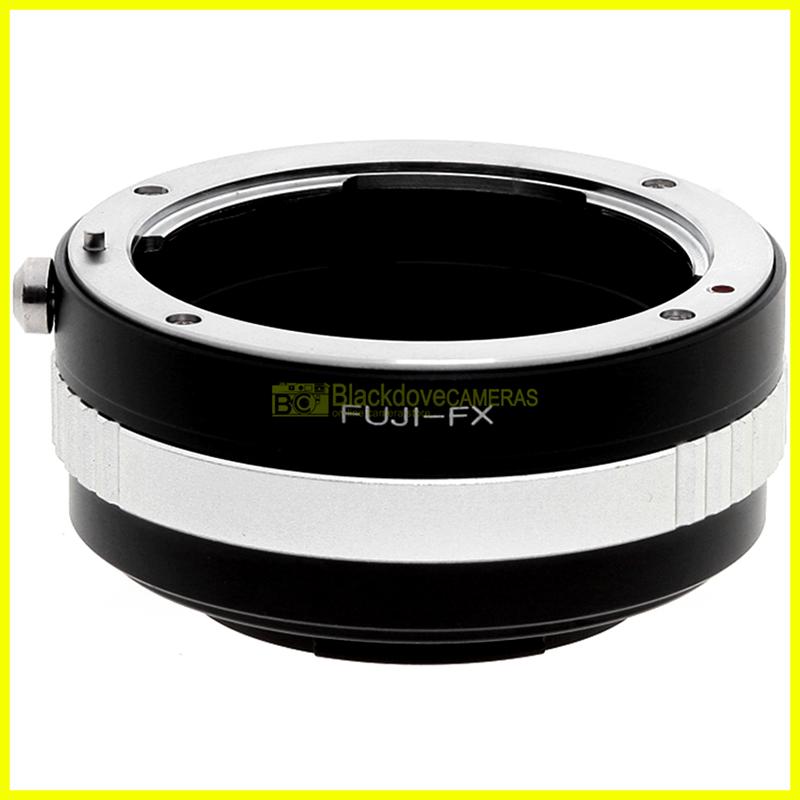 Anello adapter Obiettivi Fuji/Fujica su fotocamere digitali Fuji X. Adattatore