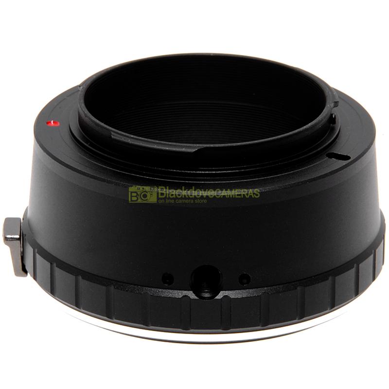 Adapter obiettivi Nikon su fotocamere digitali Sony E Mount Nex-Alpha Adattatore
