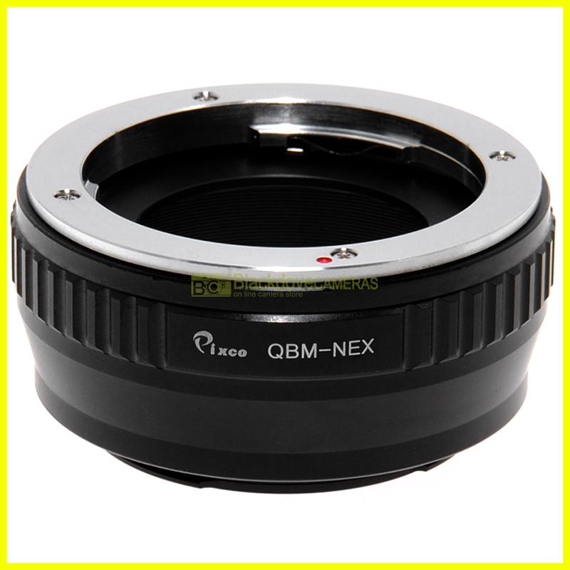 Adapter per obiettivi Rollei QBM su fotocamere Sony E Mount Nex-Alpha Adattatore