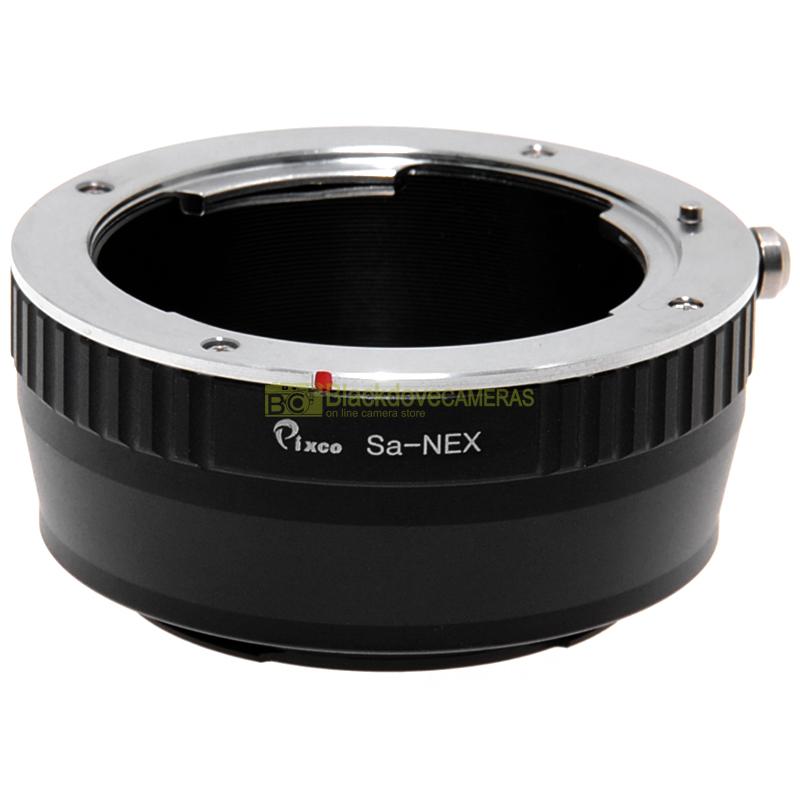 Adapter per obiettivi Sigma SA su fotocamera Sony E-Mount e Nex. Adattatore