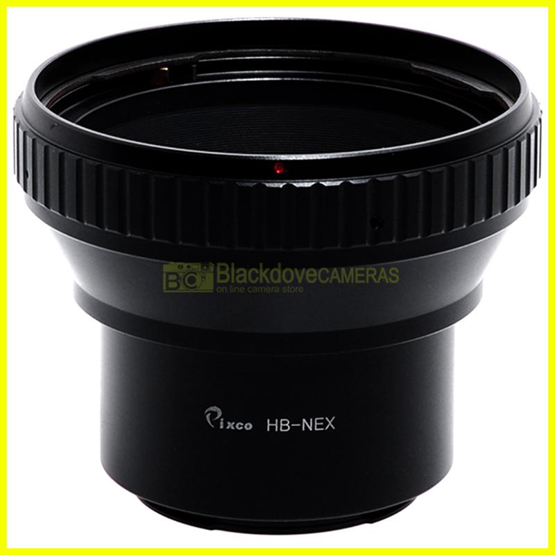 Adapter per obiettivi Hasselblad V su fotocamere Sony E-Mount - Nex. Adattatore.