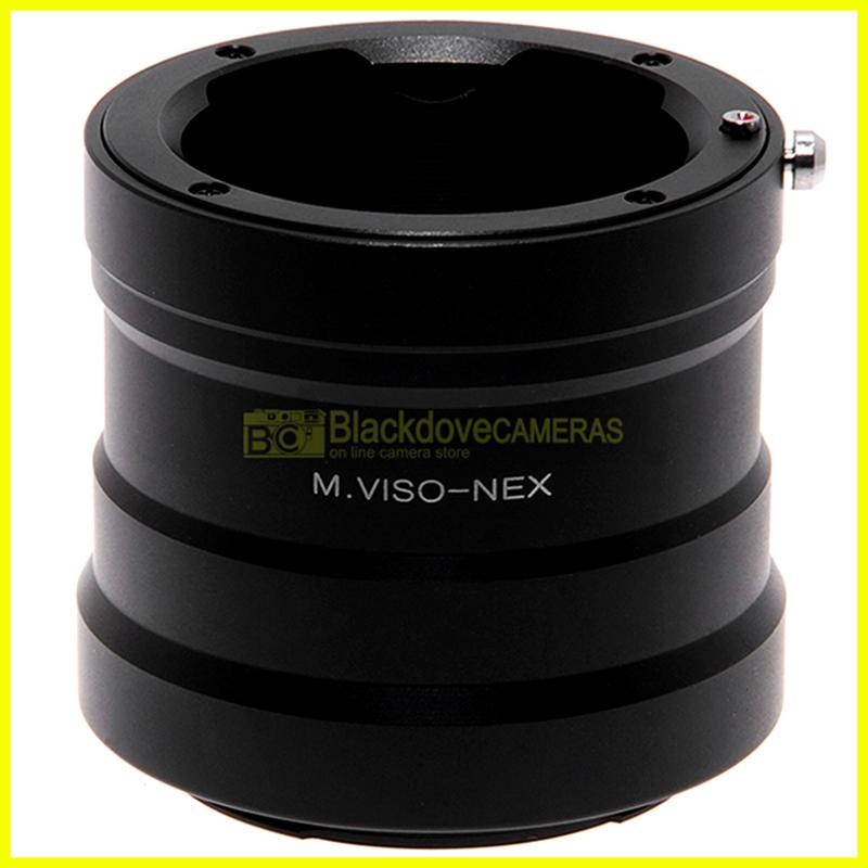 Adapter per obiettivi Leica M Viso su fotocamera Sony E-Mount e Nex. Adattatore