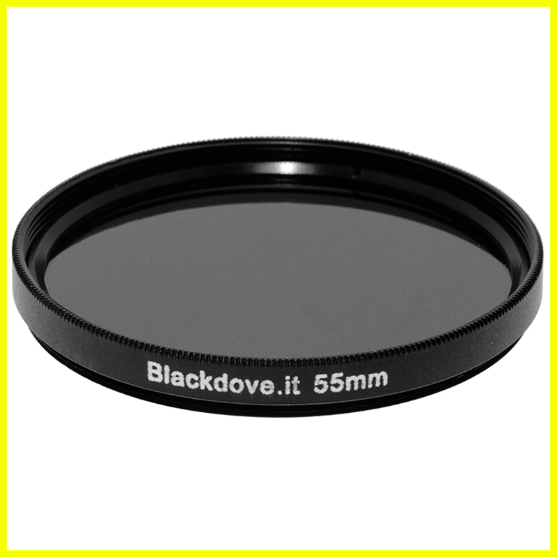 55mm. filtro Neutral density ND8 (+3 stops) Blackdove-cameras per obiettivi M55